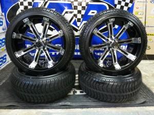 Tempest 14 Wheel Kit For Club Car Ez Go